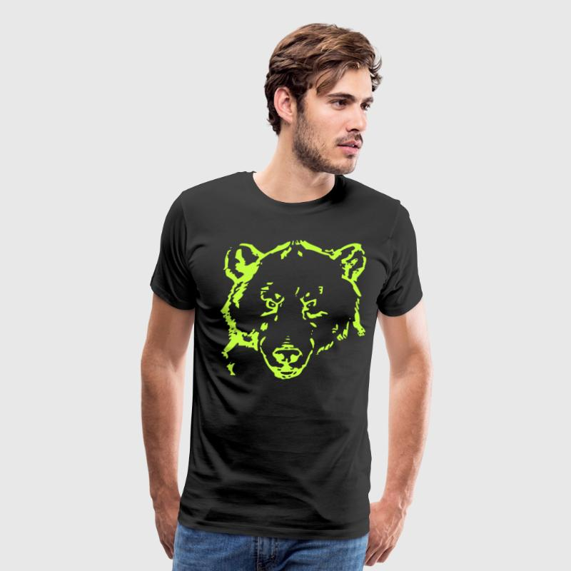 Neon Bear - Men's Premium T-Shirt