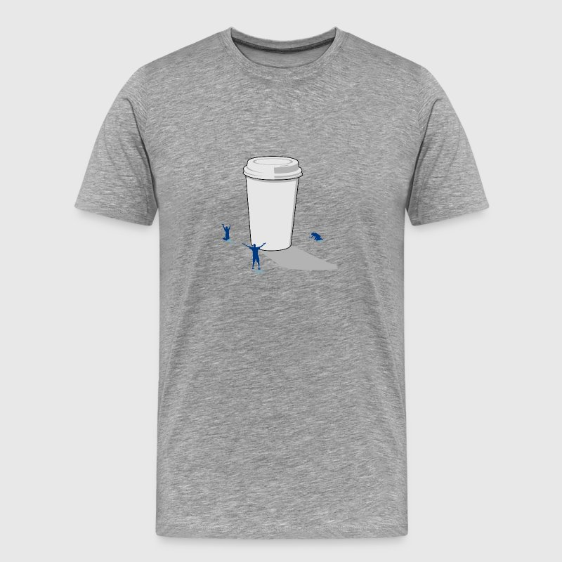 Coffee Worship T-shirt - Men's Premium T-Shirt