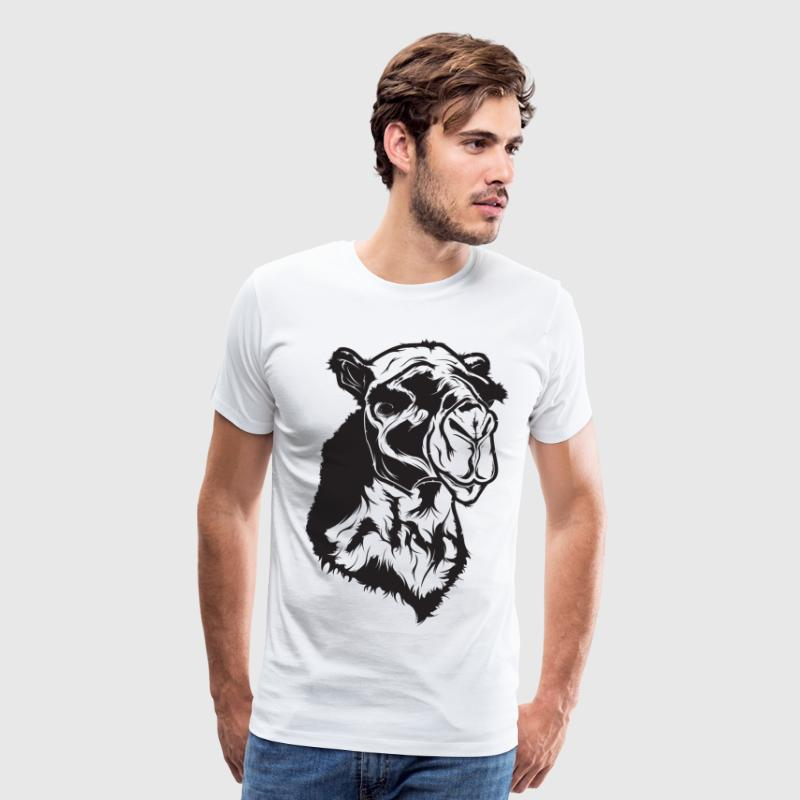 Camel - HD Design T-Shirts - Men's Premium T-Shirt