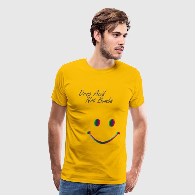 Drop Acid not Bombs T-Shirts - Men's Premium T-Shirt