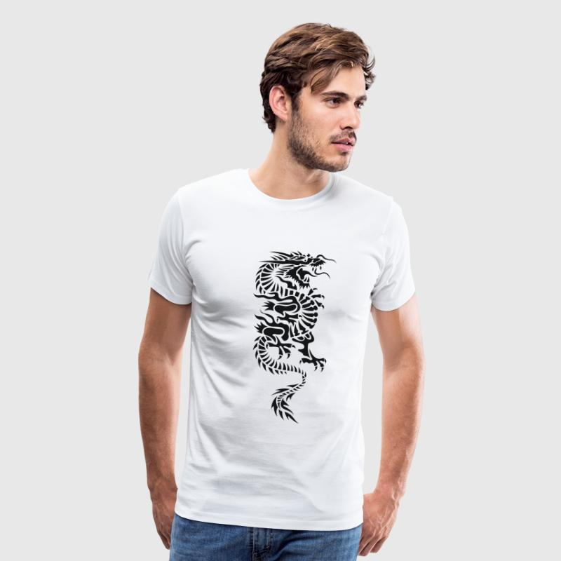 Chinese Dragon Tattoo 4 T-Shirts - Men's Premium T-Shirt