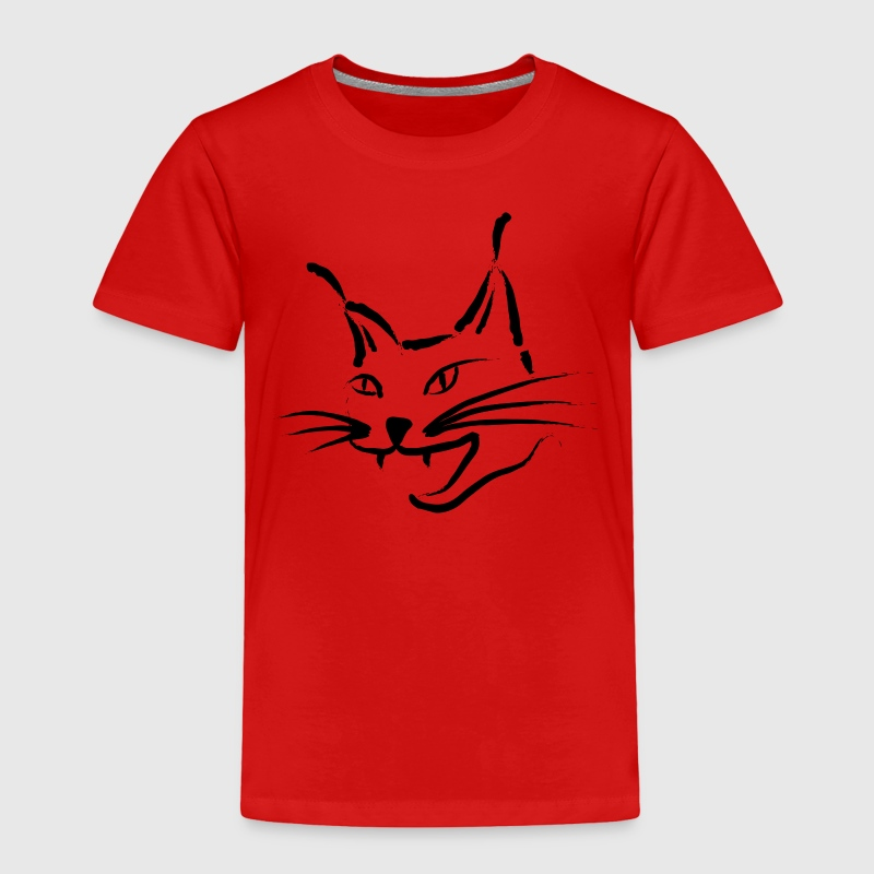 lynx cougar lion wildcat bobcat cat wild hunter hunt hunting Toddler Shirts - Toddler Premium T-Shirt