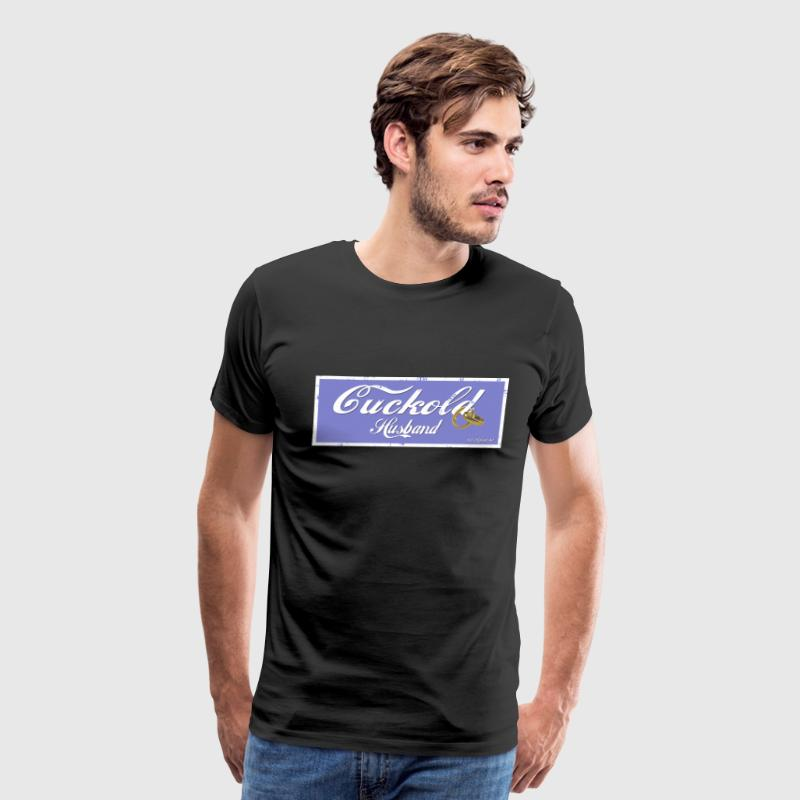 cuckold husband design T-Shirts - Men's Premium T-Shirt