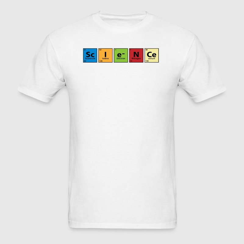 Periodic Table Science Toddler Shirts - Men's T-Shirt