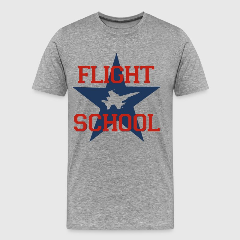 Flight School T-Shirts - Men's Premium T-Shirt
