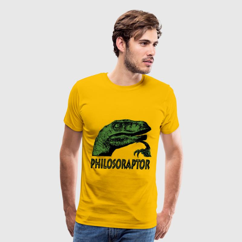 Philosoraptor - Men's Premium T-Shirt