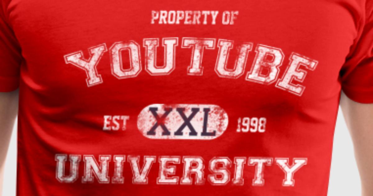 You Tube University T Shirt Spreadshirt
