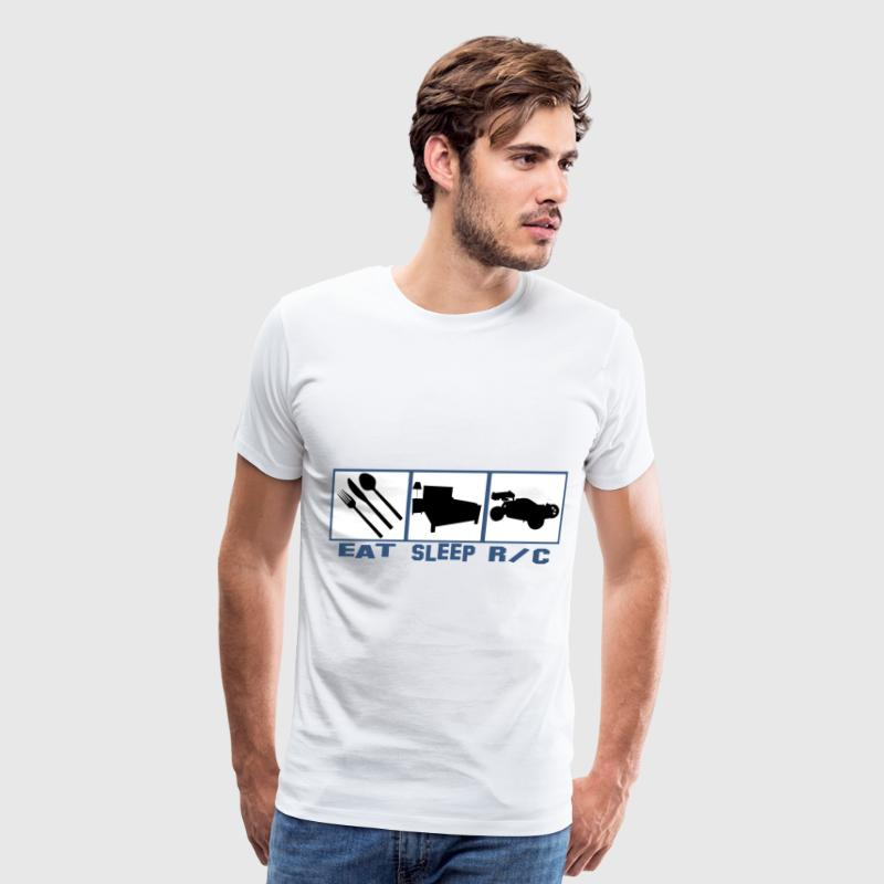 Eat sleep R/c car radio controlled cars - Men's Premium T-Shirt