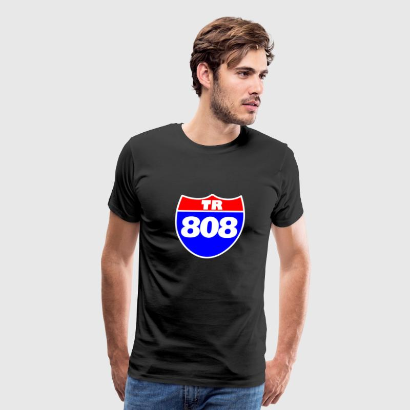 Interstate 808 T-Shirts - Men's Premium T-Shirt
