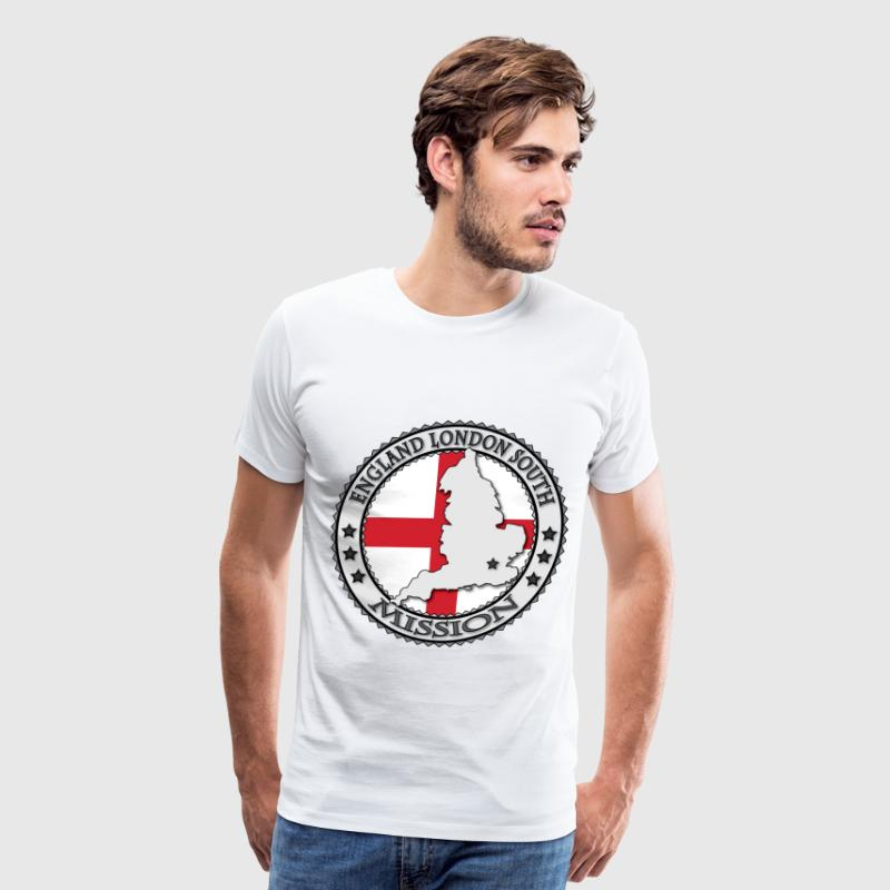 England London South LDS Mission - Called to Serve - Men's Premium T-Shirt