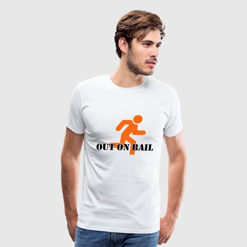 Out on Bail T-Shirts - Men's Premium T-Shirt