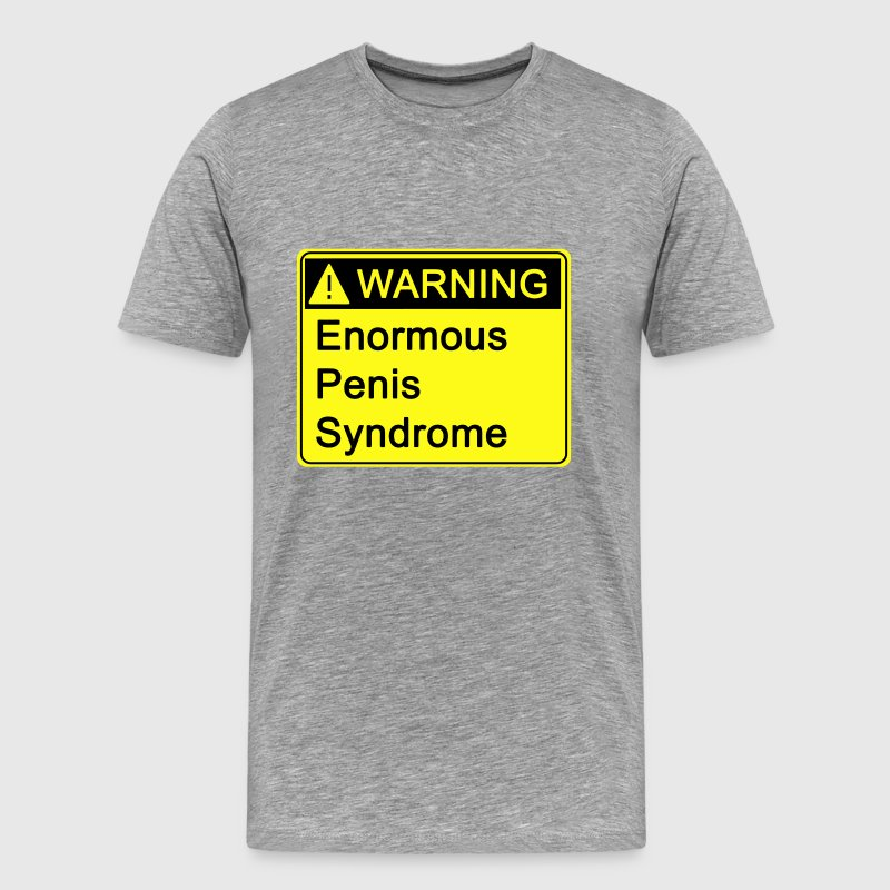 Warning! EPS - Men's Premium T-Shirt