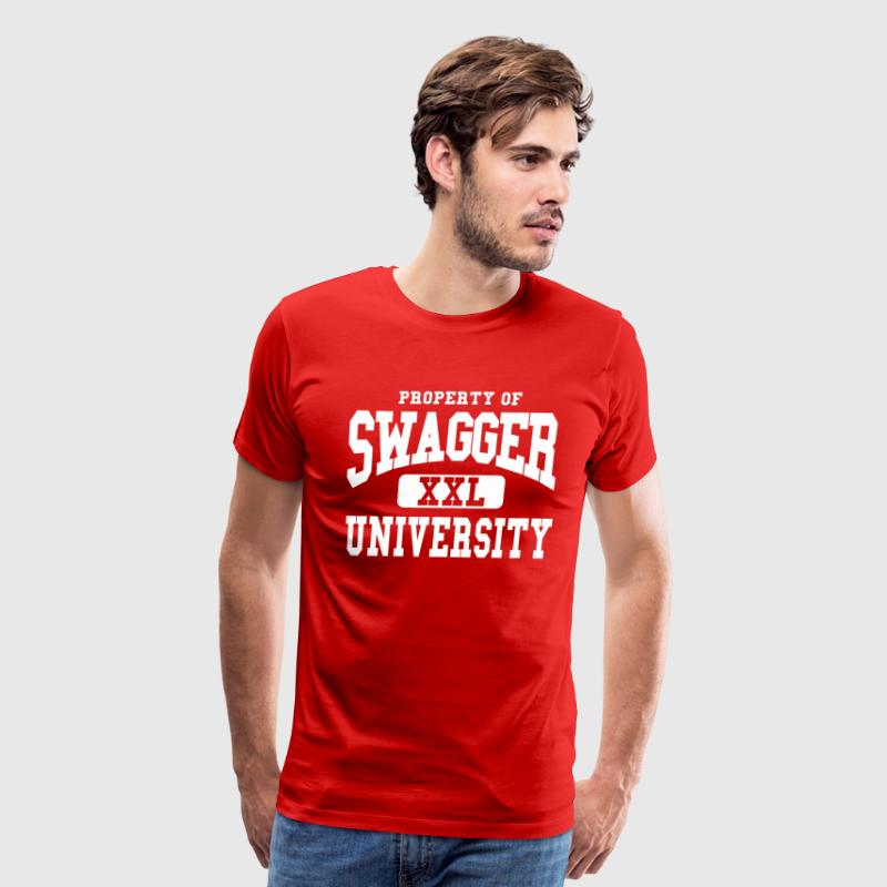 SWAGGER UNIVERSITY T-Shirts - Men's Premium T-Shirt