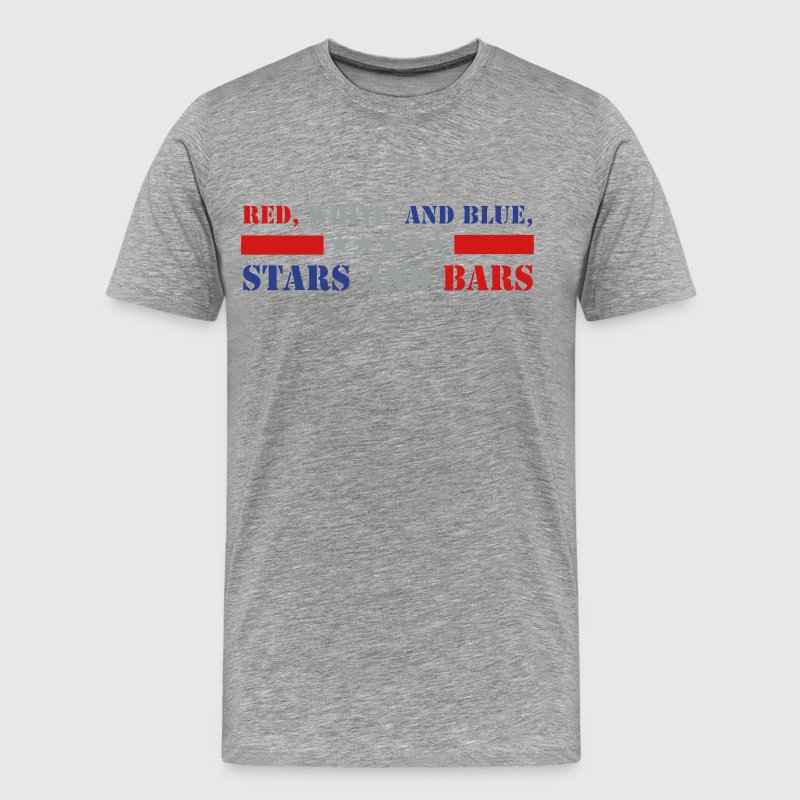 Stars and Bars T-Shirts - Men's Premium T-Shirt