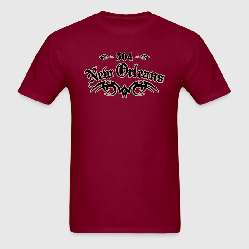 New Orleans 504 Heavyweight T-Shirt - Men's T-Shirt