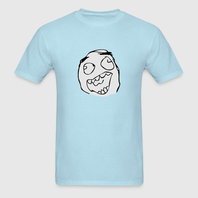Happy Derp - internet meme - Men's T-Shirt