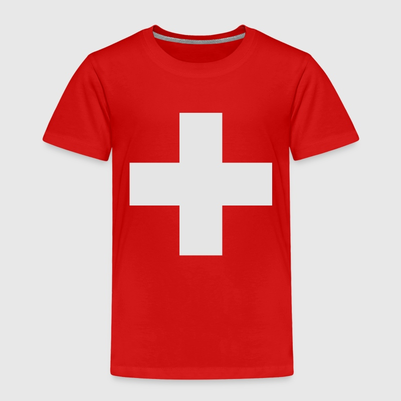Swiss Cross Toddler Shirts - Toddler Premium T-Shirt