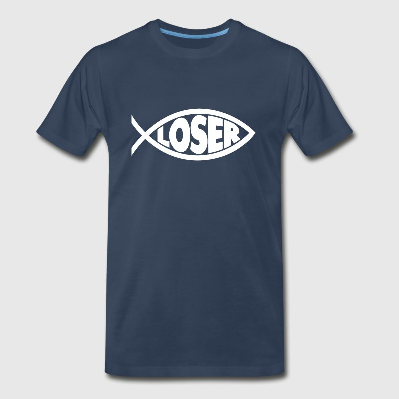 Loser Jesus Heavyweight T-Shirt - Men's Premium T-Shirt
