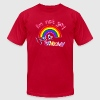 I'm not gay, i just like rainbows! T-Shirts - Men's T-Shirt by American Apparel