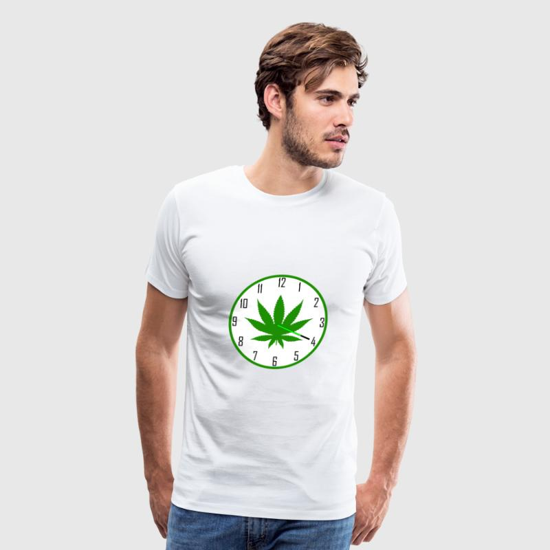 4:20 Clock T-Shirts - Men's Premium T-Shirt