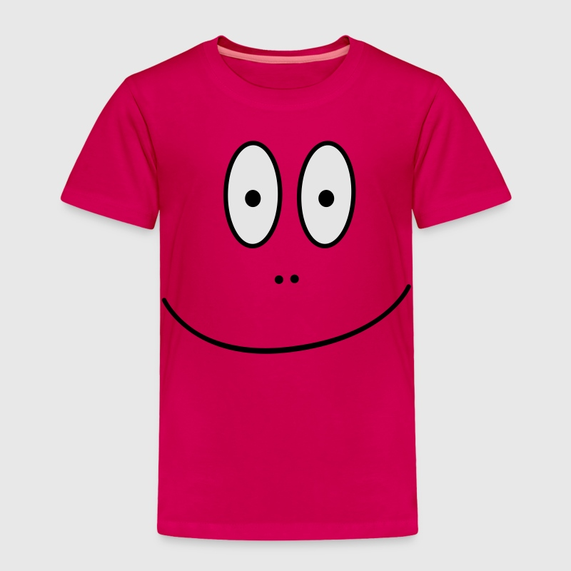 Cartoon Face - Toddler Premium T-Shirt