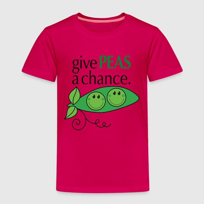 give PEAS a chance. Baby & Toddler Shirts - Toddler Premium T-Shirt