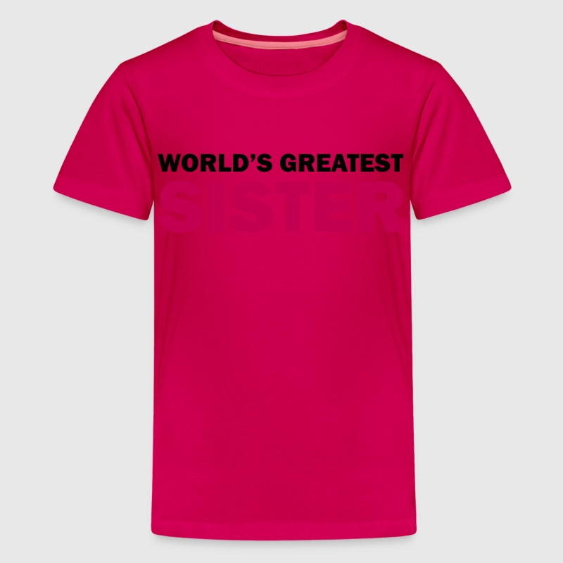 World's greatest sister - Kids' Premium T-Shirt