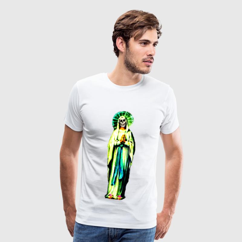 Cult Of Santa Muerte T-Shirt - Men's Premium T-Shirt