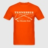 Tennessee, the volunteer state mens vintage T - Men's T-Shirt