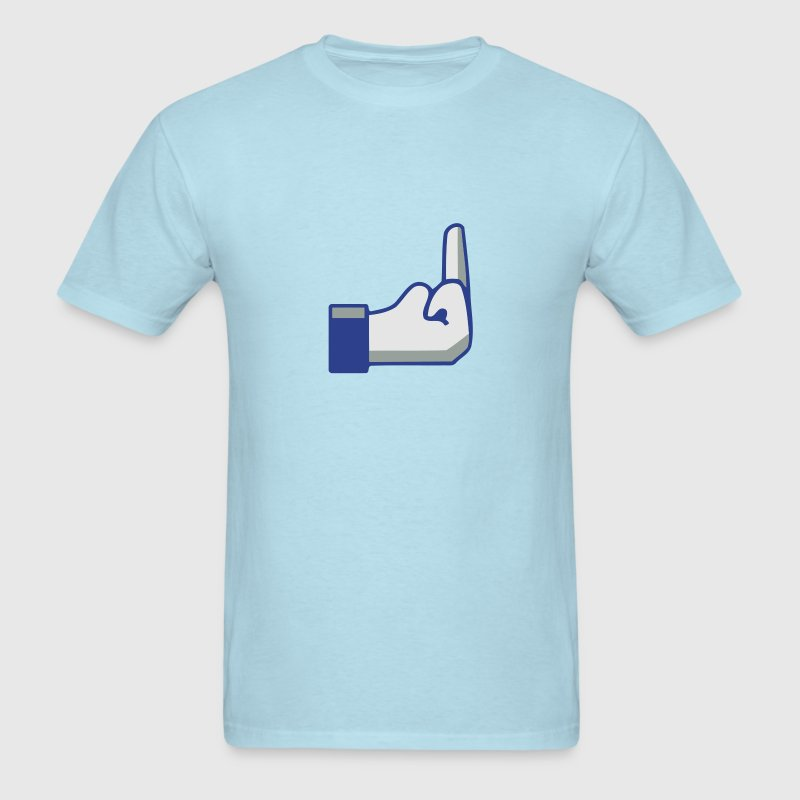 FB fuck - Men's T-Shirt
