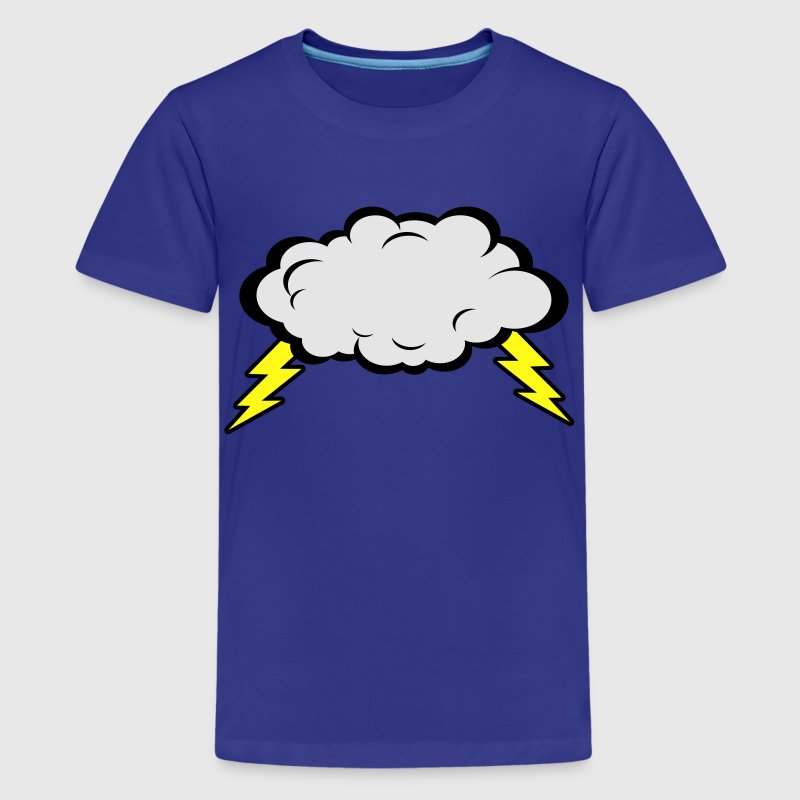Thunder Cloud Kids' Shirts - Kids' Premium T-Shirt