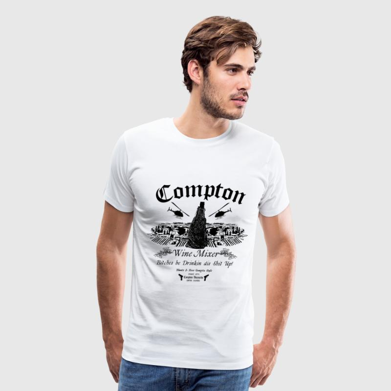 The Compton Wine Mixer - Men's Premium T-Shirt
