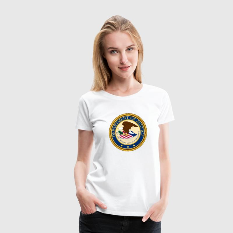 Department of Justice Women's T-Shirts - Women's Premium T-Shirt