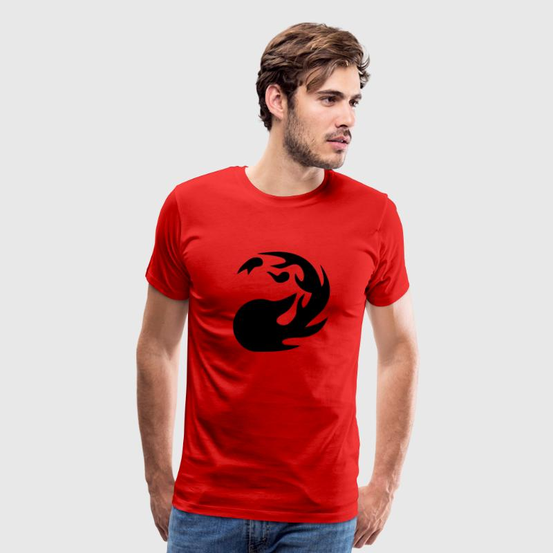 MTG Red Mana T-Shirts - Men's Premium T-Shirt