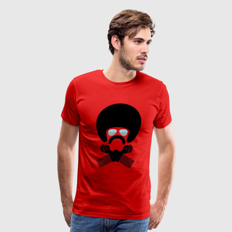Brotha Afro Pick - Men's Premium T-Shirt