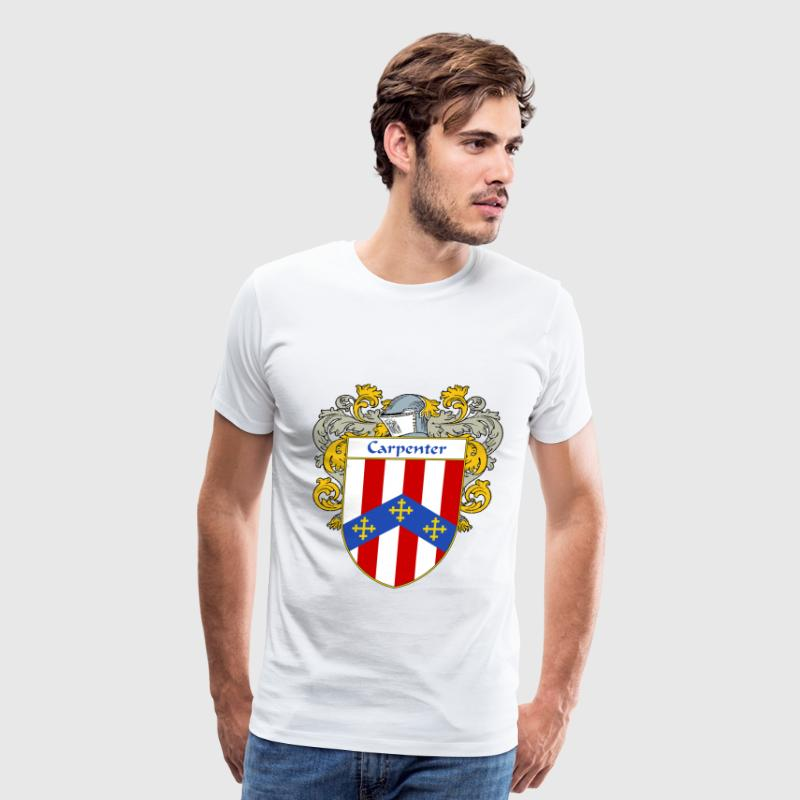 Carpenter Coat of Arms/Family Crest - Men's Premium T-Shirt