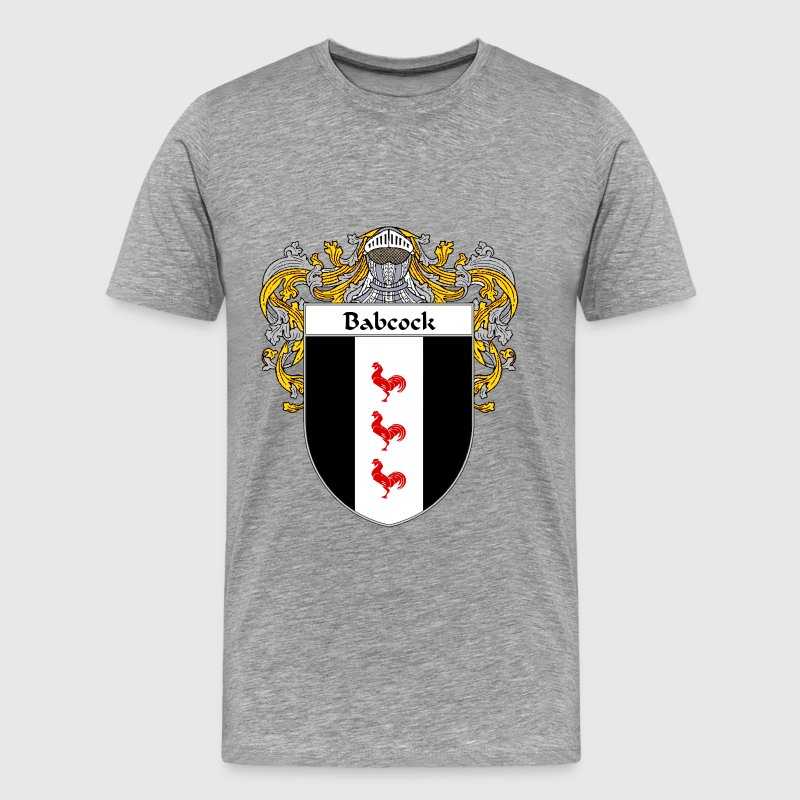 Babcock Coat of Arms/Family Crest - Men's Premium T-Shirt