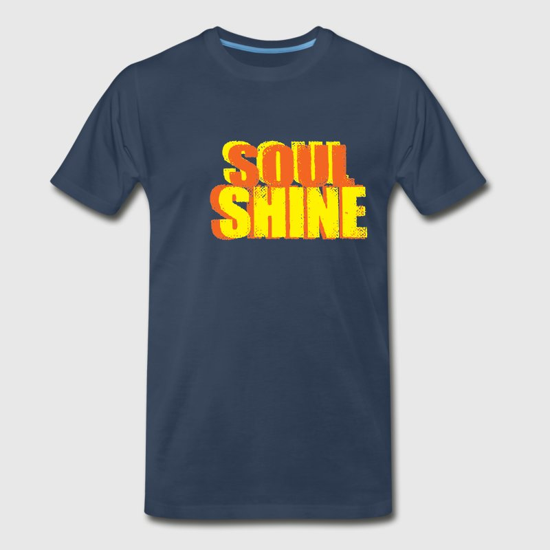 Let your Soul Shine with this fun Hippie Shirt - Men's Premium T-Shirt