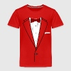 Tuxedo Red Bowtie Baby & Toddler Shirts - Toddler Premium T-Shirt