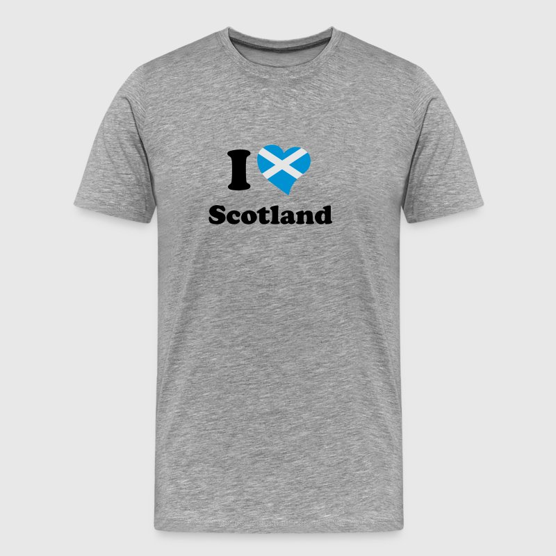 I love Scotland T-Shirts - Men's Premium T-Shirt