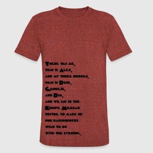 alex quote a clockwork orange t shirt spreadshirt unisex tri blend t shirt by american apparel