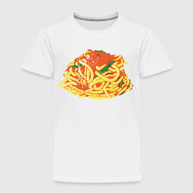 Spaghetti for toddlers - Toddler Premium T-Shirt