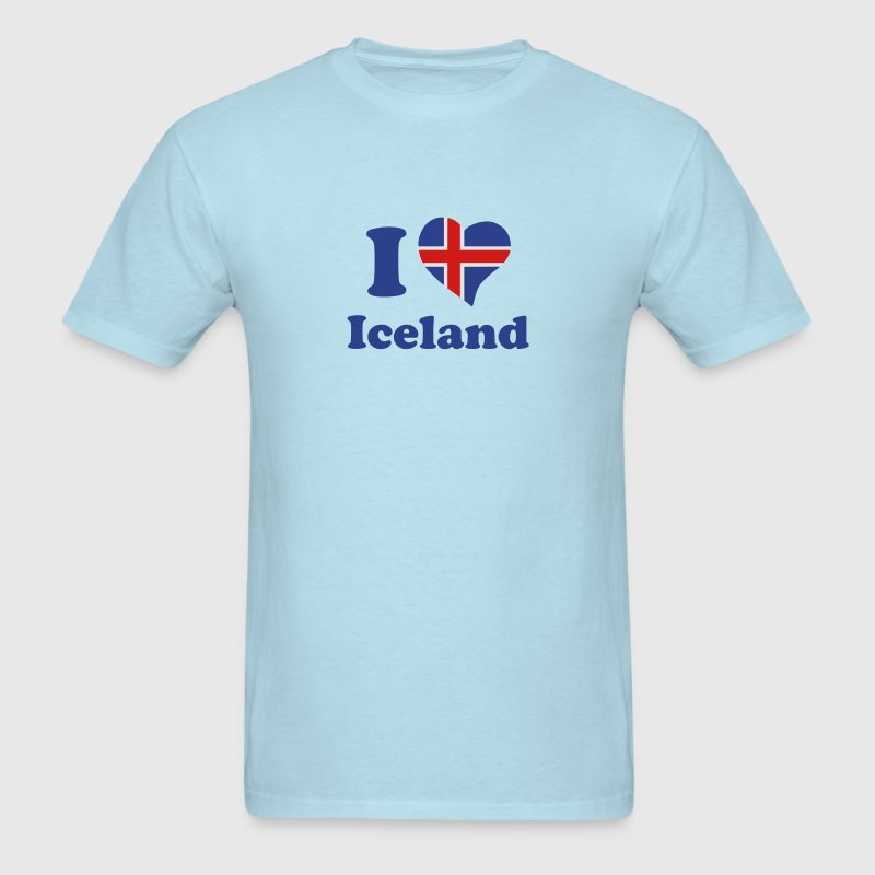 I love Iceland T-Shirts - Men's T-Shirt
