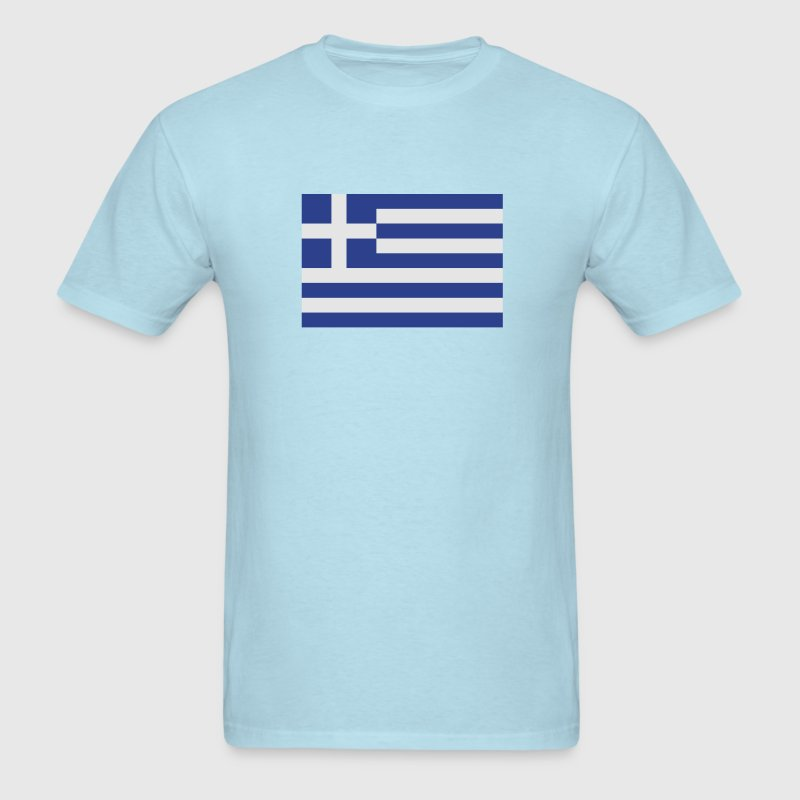 Greek flag T-Shirts - Men's T-Shirt