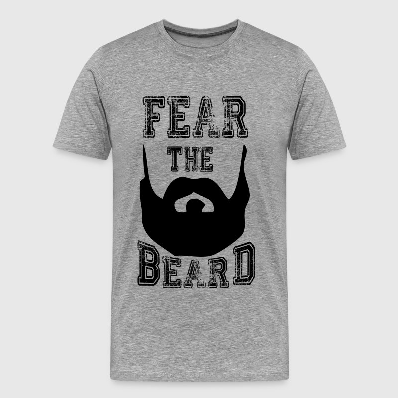 fear the beard T-Shirts - Men's Premium T-Shirt