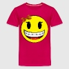 Smiley face - girl - braces  - Kids' Premium T-Shirt