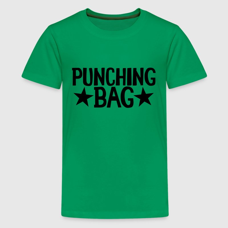 PUNCHING BAG with stars Kids' Shirts - Kids' Premium T-Shirt