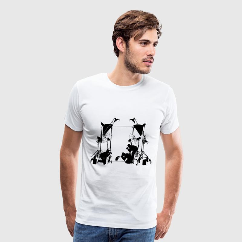 Funny Cat Pictures  T-Shirts - Men's Premium T-Shirt