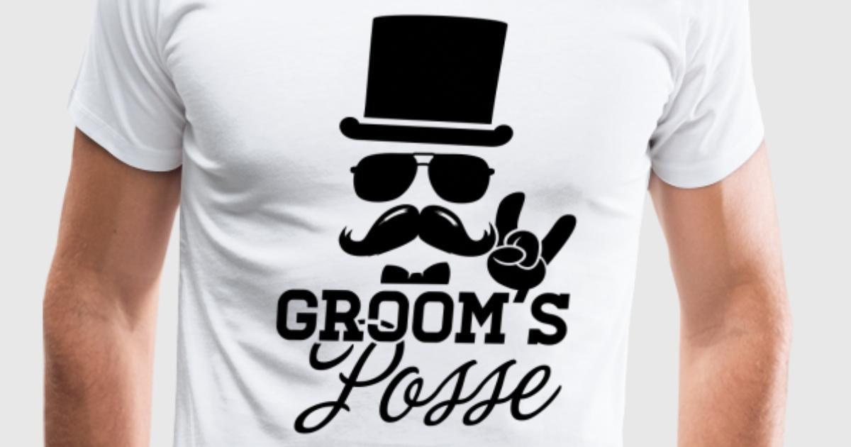9bb5e562 Groom Wedding Marriage Stag night bachelor party: Spread Shirt ...
