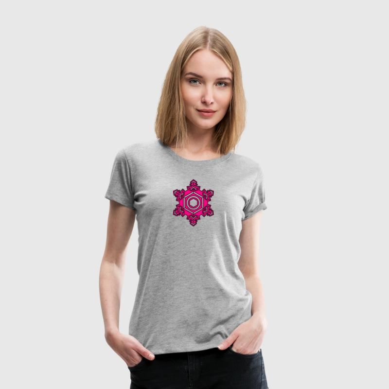 Water Crystal  Thank You/Gratitude/Masaru Emoto/ T-Shirts - Women's Premium T-Shirt
